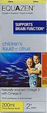 Equazen, 2041[^]10016284 Childrens Liquid Citrus - 200ml Citrus