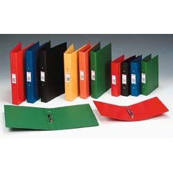 2-Ring Binders PVC A4 Blue Ref 50002