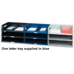 Esselte Sorty Jumbo Letter Tray Blue product image
