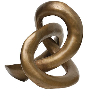 Eternal Knot Sculpture