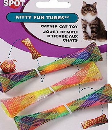 ETHICAL PRODUCT Ethical Pets Kitty Fun Tubes Cat Toys (Pack Of 3)
