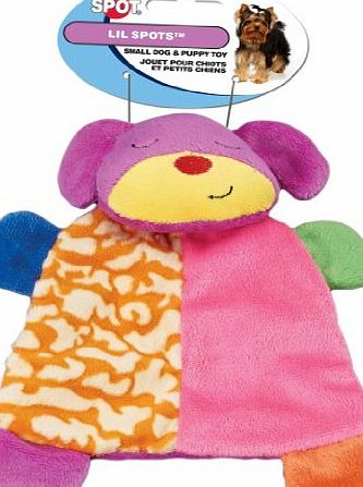 ETHICAL PRODUCT s Spot Lil Spots Plush Blanket Toys Assorted Soft Pet Dog Toy 7in