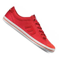 Ladies Vanah Canvas Shoes - Red