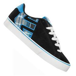 Etnies Womens Fader Vulc Skate Shoes - Black/Blue