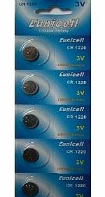 20 x Eunicell CR1220 Lithium Button Cell Battery Batteries 3V