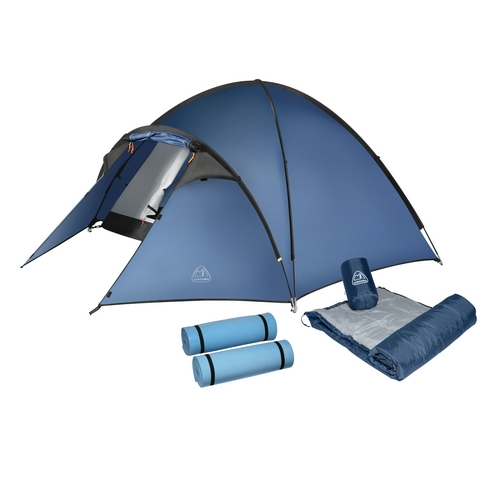 225 & Eurohike Tents u0026 Eurohike Tamar 2 Man Tent Green One Size Sc 1 St ...