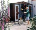 Shed Size 2A: Bike storage solution for one cycle - Steel