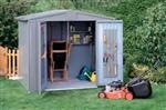 Shed Size 4A: Bike storage solution for one cycle - Steel