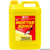 "Mortar Admix is an air entraining plasticiser that replaces lime in the mix to provide an easy to work ""butter like"" consistency to the mortar and to prevent shrinkage, cracking and crazing during the setting process. For use in brick lay - CLICK FOR MORE INFORMATION"