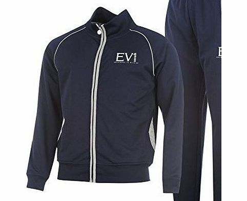 Everlast Mens Tricot Tracksuit Sn44 Training Sport Gym Clothing Brand New Navy M