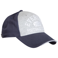 Everton Jersey Panel Cap - Navy/Grey. product image