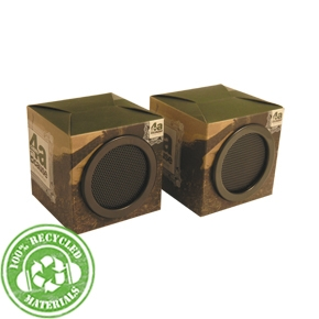 These earth-friendly speakers are made from recycled materials and not only sound great but help sav - CLICK FOR MORE INFORMATION