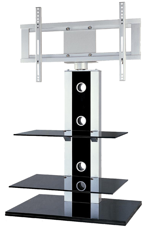 This contemporary glass stand is designed to be both practical and stylish. It is constructed from t - CLICK FOR MORE INFORMATION