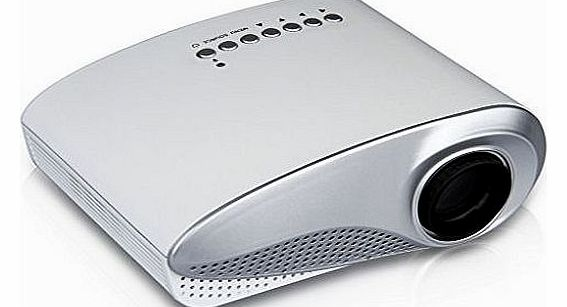 Excelvan® LED/LCD Portable Mini Multimedia Projector AV /USB/VGA/HDMI/SD Home Theater480*320 for DVD PC USB Flash