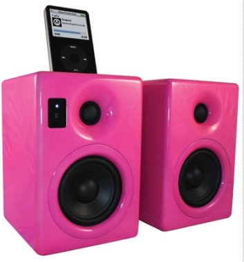 iPod Speakers - Pink