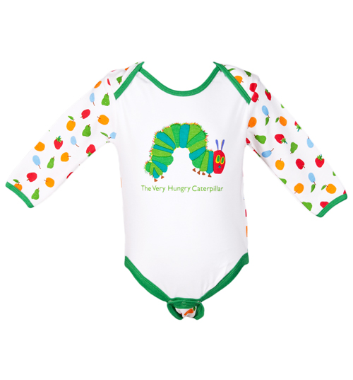 Fabric flavours kids hungry caterpillar babygrow from fabric review compare prices buy online