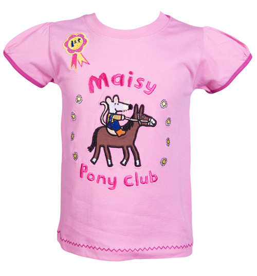 Fabric Flavours Kids Maisy Mouse Pony Club T-Shirt from Fabric product image