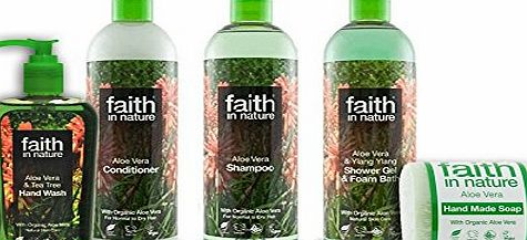 Faith In Nature Aloe Vera Organic Pamper Collection