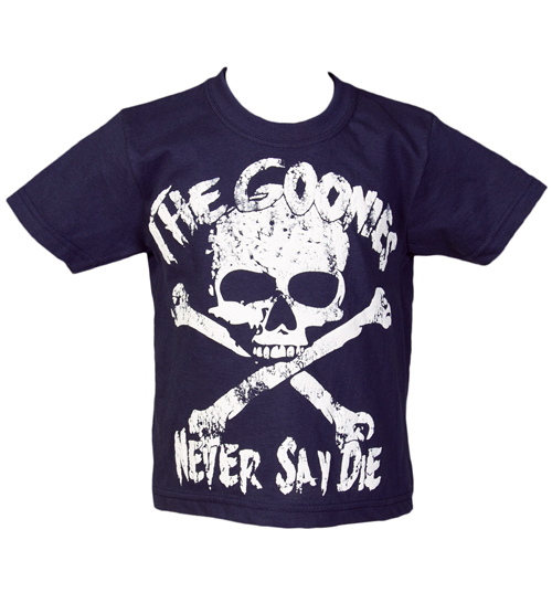 Kids Goonies Never Say Die T-Shirt from Fame and