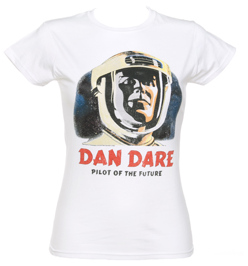 Ladies Dan Dare Pilot Of The Future T-Shirt from