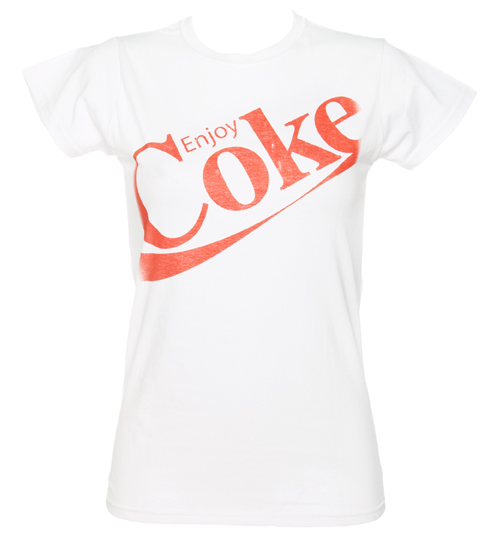 Ladies Enjoy Coke T-Shirt from Fame and Fortune