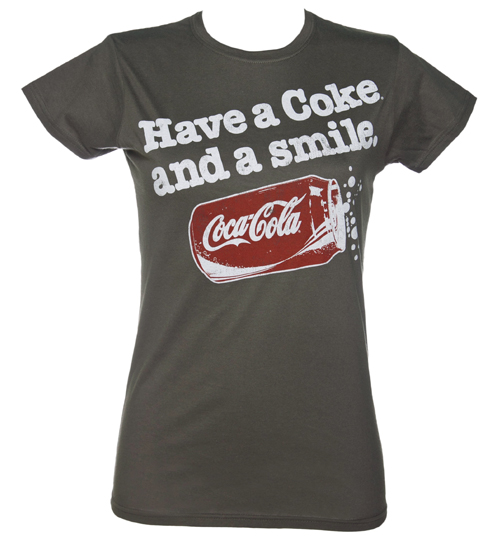 Ladies Have A Coke And A Smile T-Shirt from Fame