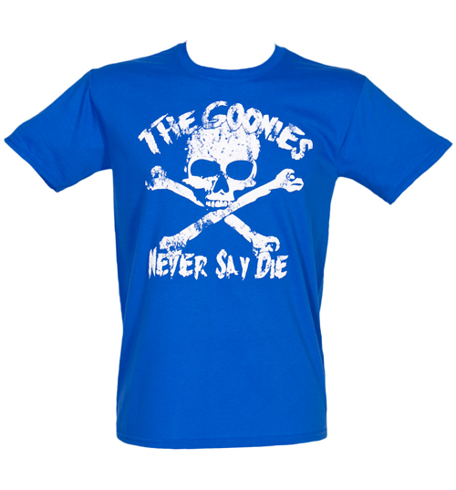 Fame and Fortune Mens Goonies Never Say Die T-Shirt from product image