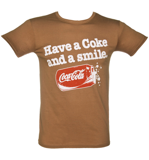 Mens Have A Coke And A Smile T-Shirt from
