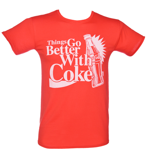Mens Things Go Better With Coke T-Shirt