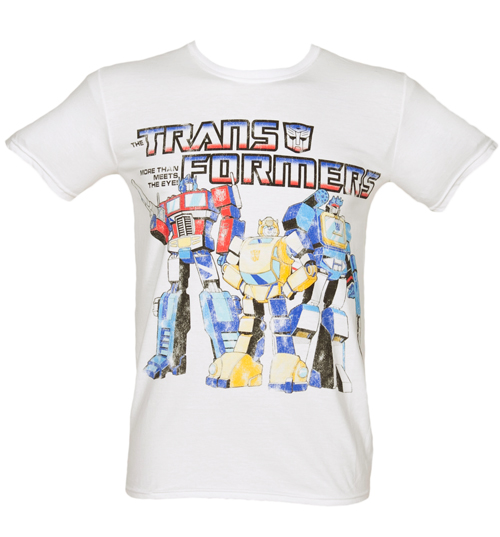 Fame and Fortune Mens Transformers Group T-Shirt from Fame product image
