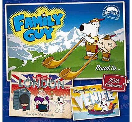 Family Calendar 2015 : Family guy calendars
