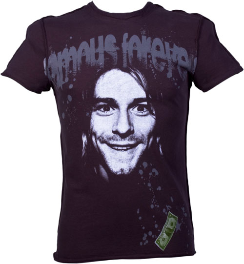 Mens Kurt Cobain T-Shirt from Famous