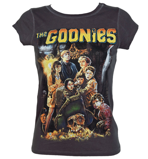 Ladies Goonies Movie Poster T-Shirt from Famous