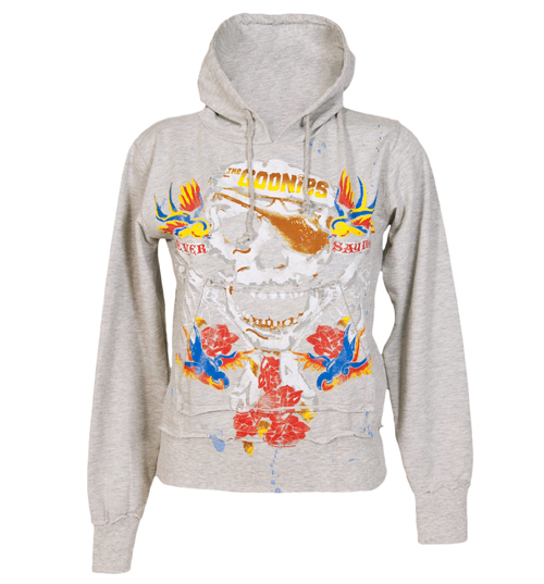 Ladies Goonies Tattoo Hoodie from Famous Forever