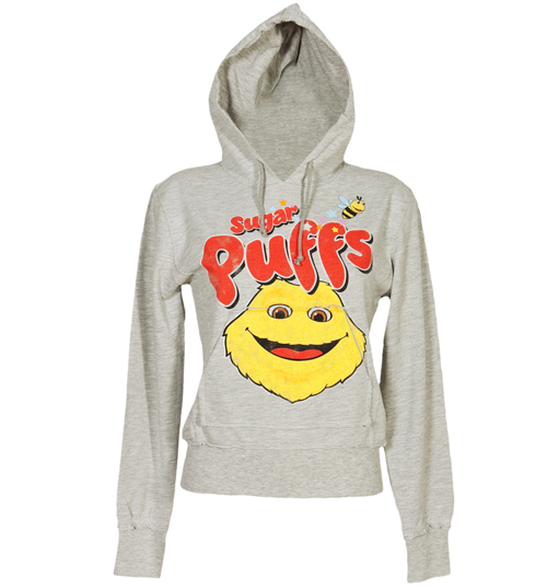 Famous Forever Ladies Grey Sugar Puffs Hoodie from Famous Forever product image
