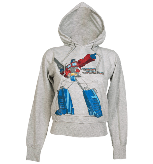 Famous Forever Ladies Transformers Autobot Hoodie from Famous product image