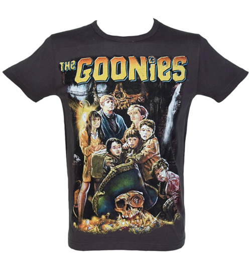 Mens Goonies Movie Poster T-Shirt from
