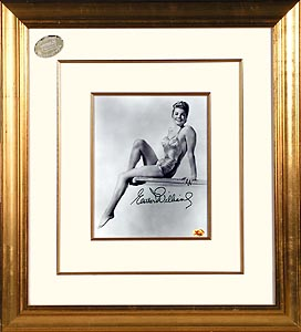 FamousRetail Esther Williams signed b/w 8x10 photo