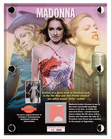 Madonna Limited Edition Interview Picture Disc