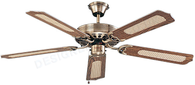 Fantasia Classic 52 Inch Antique Brass Ceiling Cooling Fan