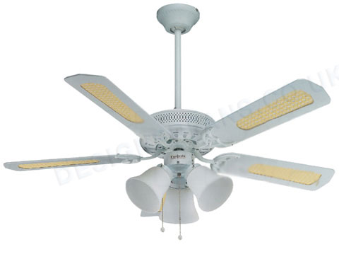 fantasia vienna 42 inch white ceiling fan light ceiling. Black Bedroom Furniture Sets. Home Design Ideas