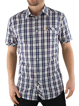 Farah Vintage Ecru Watts Check Shirt product image