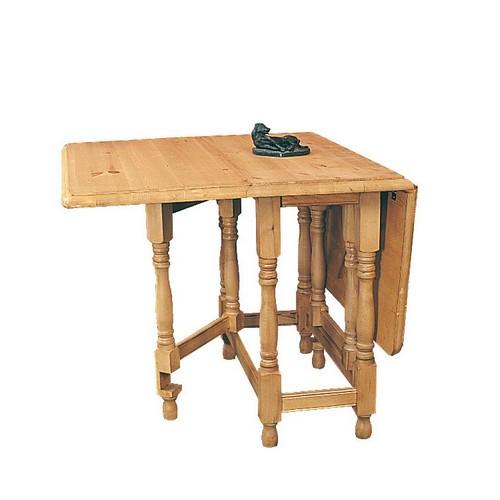 gateleg tables : farmhouse rectangular gateleg pine dining table from www.comparestoreprices.co.uk size 500 x 500 jpeg 31kB