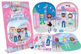 Fashion Angels - Magnetic Dress-Up Doll Set - LONDON