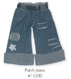 Fashion Angels Livings Dolls Clothes - Patch Jeans
