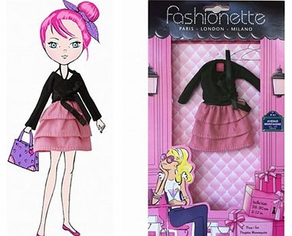 - Look ``Polly`` - Outfits for 10.5 inch dolls : Monster High, Moxie Girlz, etc...