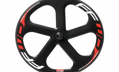5 Spoke Carbon Track Front Wheel