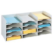 Fast Paper 3x5 Compartment Horizontal Organiser product image