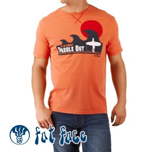 Fat Face T-Shirts - Fat Face If In Doubt Paddle