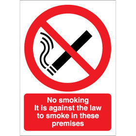 No Smoking in these premises